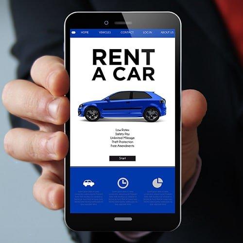 автомобили напрокат